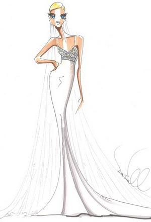 эскизы красивых платьев: