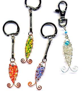 Copper Fish Necklace089