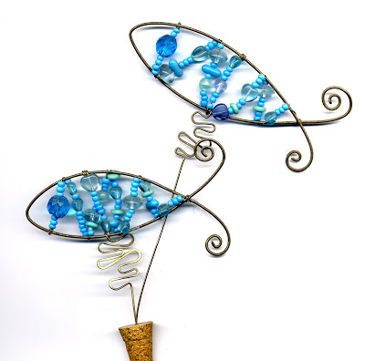 Copper Fish Necklace091
