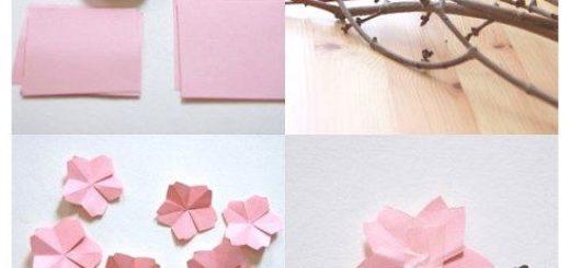 Origami-Cherry-Blossom-Flower1