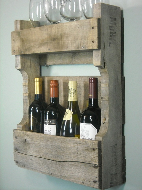 Small-Pallet-Wine-Rack