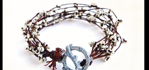 Silver Branches Bracelet Tutorial