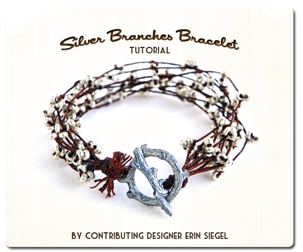Silver Branches Bracelet Tutorial