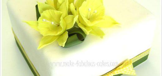 daffodil-cake