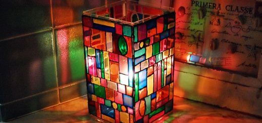 faux-stain-glass-luminary