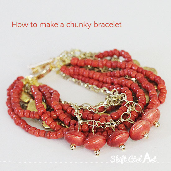 how-to-make-a-chunky-bracelet-jewelry