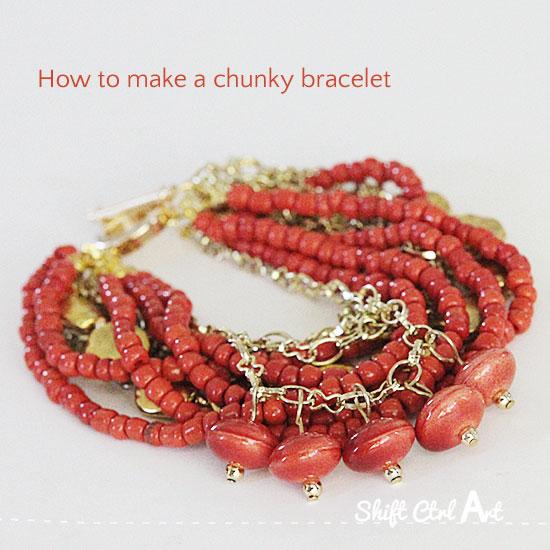 how-to-make-a-chunky-bracelet-jewelry