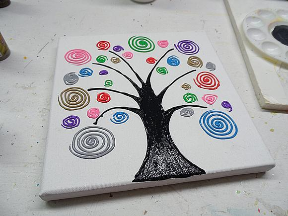 swirl tree step 10