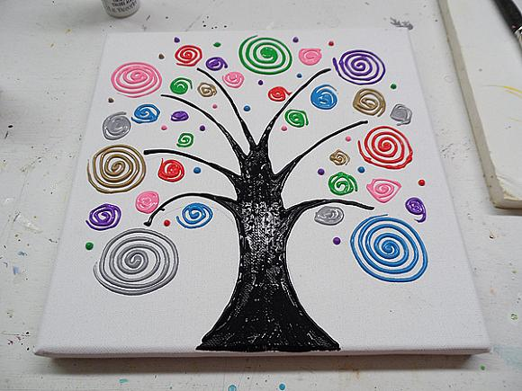 swirl tree step 12