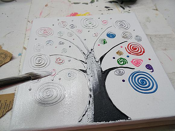 swirl tree step 13