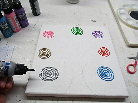 swirl tree step 5