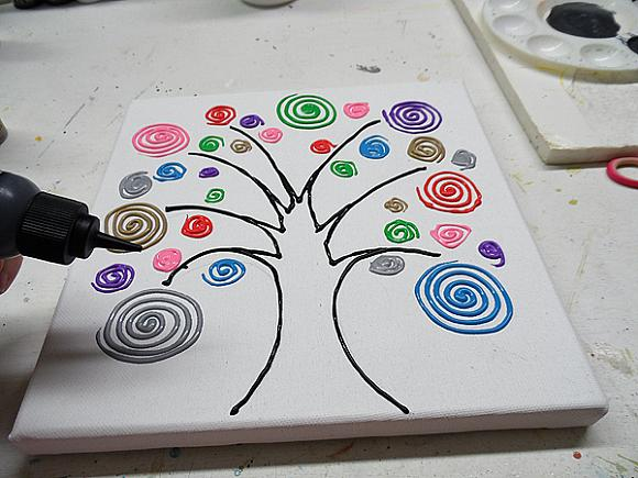 swirl tree step 8