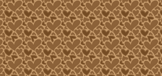 FabNFree-3111-StitchyHearts-Brown-Paper