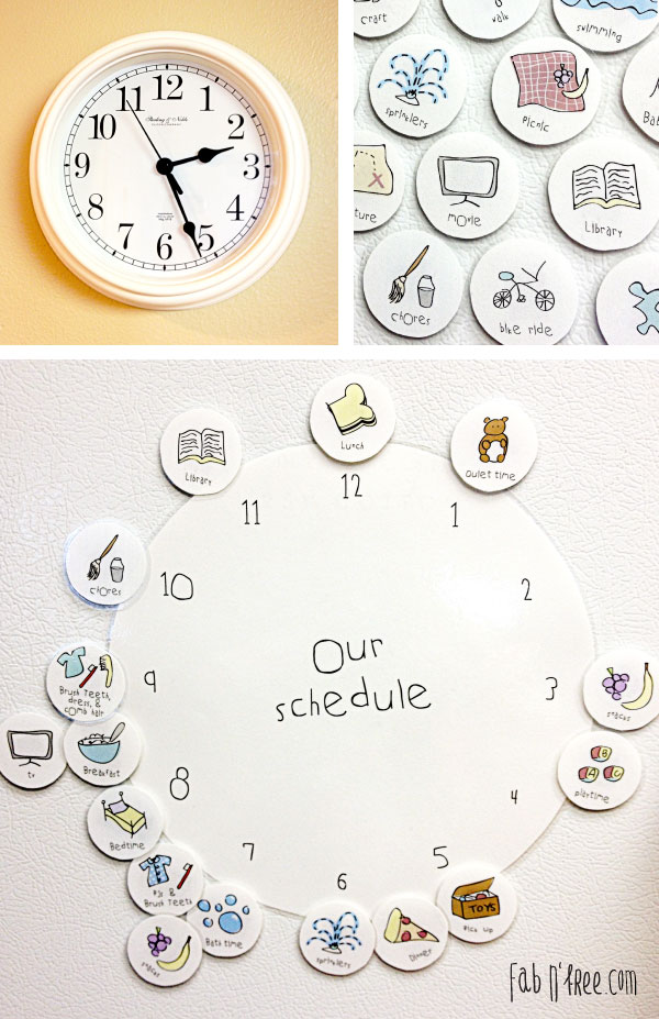 Kids-Clock-Schedule