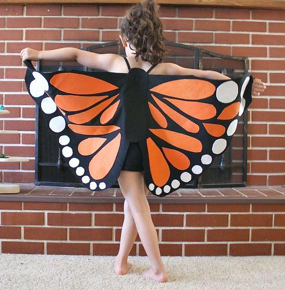 Костюмы бабочек своими руками фото