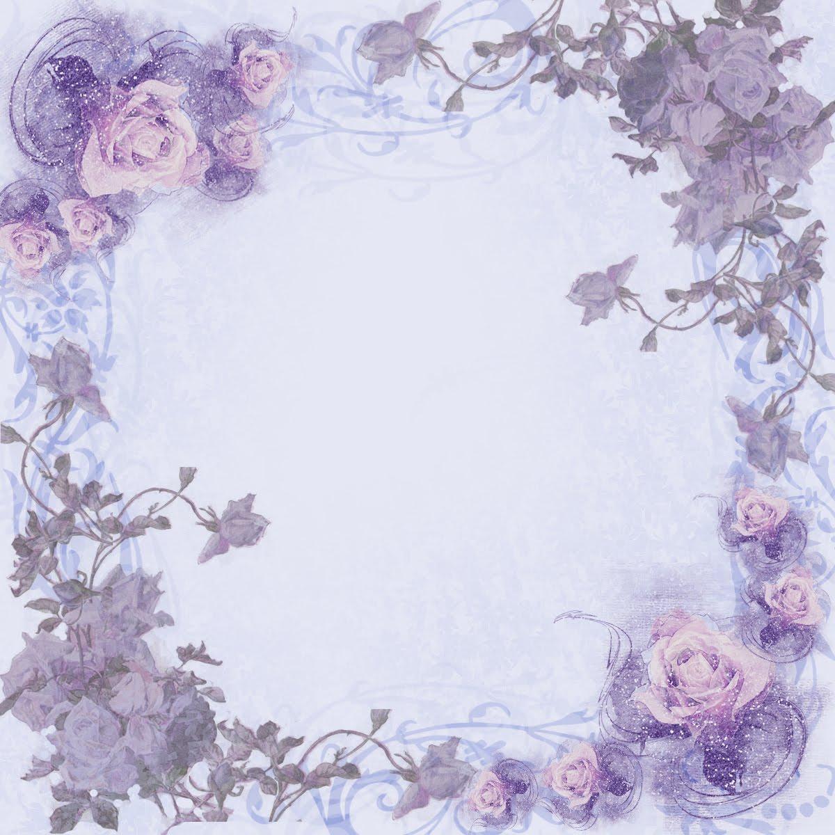4x4 blue rose paper