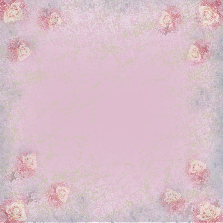 pink rose paper