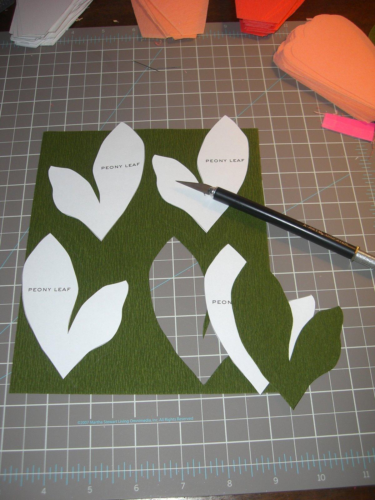 Как сделать листья из бумаги своими руками поэтапно