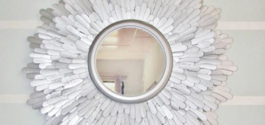 декор зеркала 1