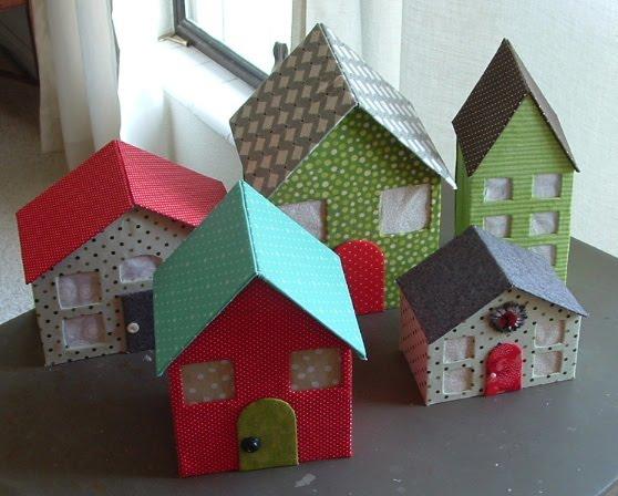 Картонный домик своими руками маленький