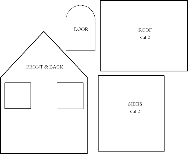 Маленькие домики своими руками из картона