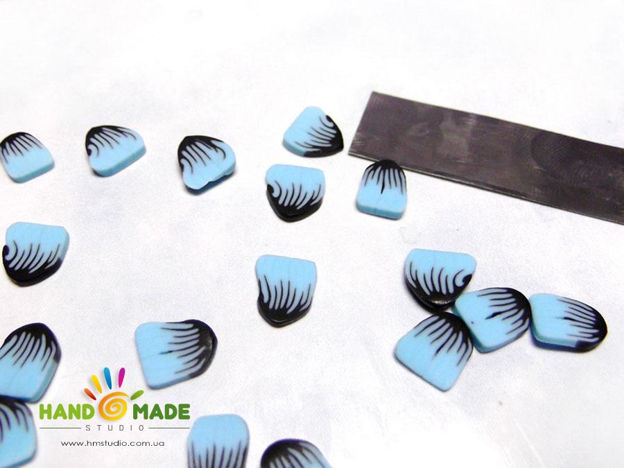 Браслет из полимерной глины «Зимнее очарование»