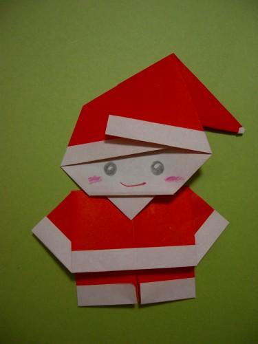 Открытки дед мороз оригами, картинки днем