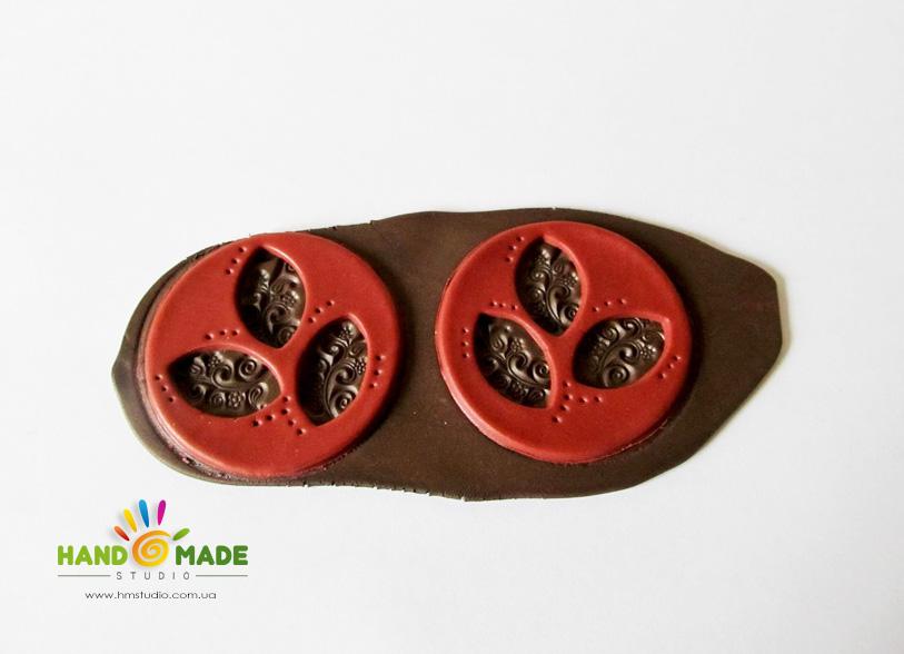 Индийские орнаменты в полимерной глине