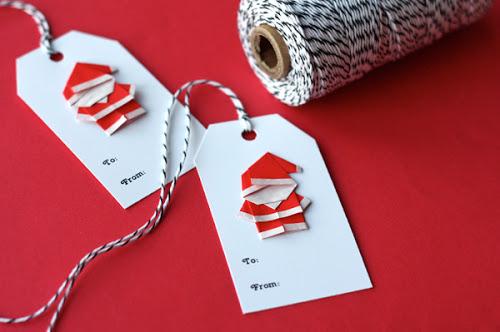 origami-santa-gift-tags