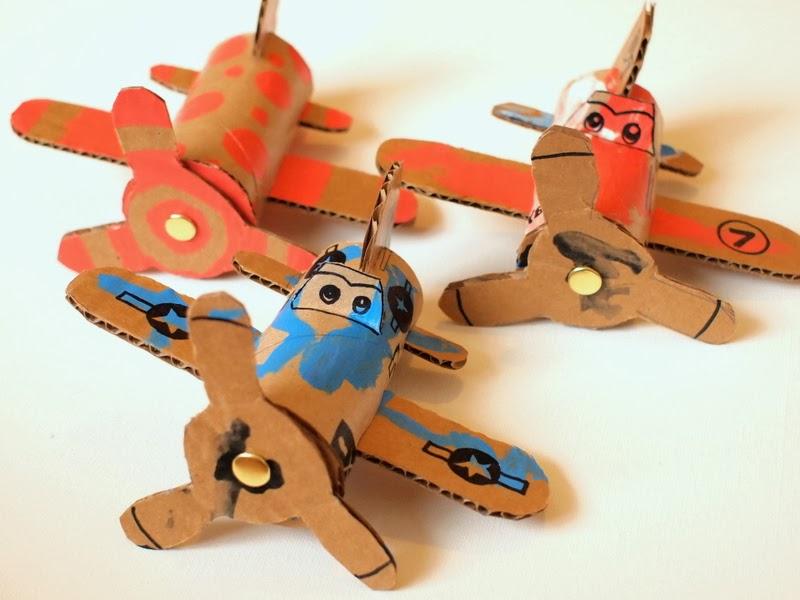 7 Make Cardboard Toilet Roll Planes Dusty Crophopper Skipper