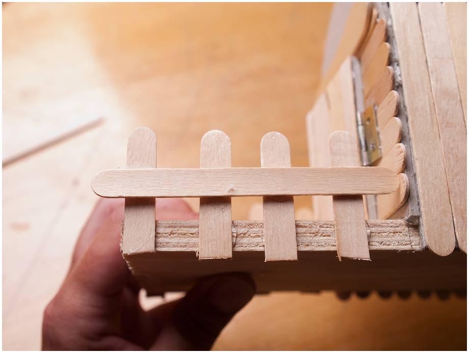 Забор из бумаги для поделки своими руками 87