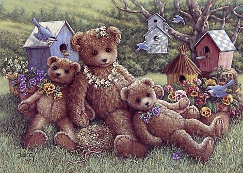 Pansy,Daisy&Viola