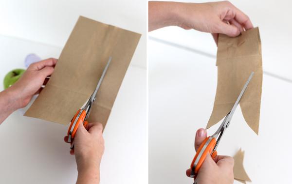 разрезать бумагу