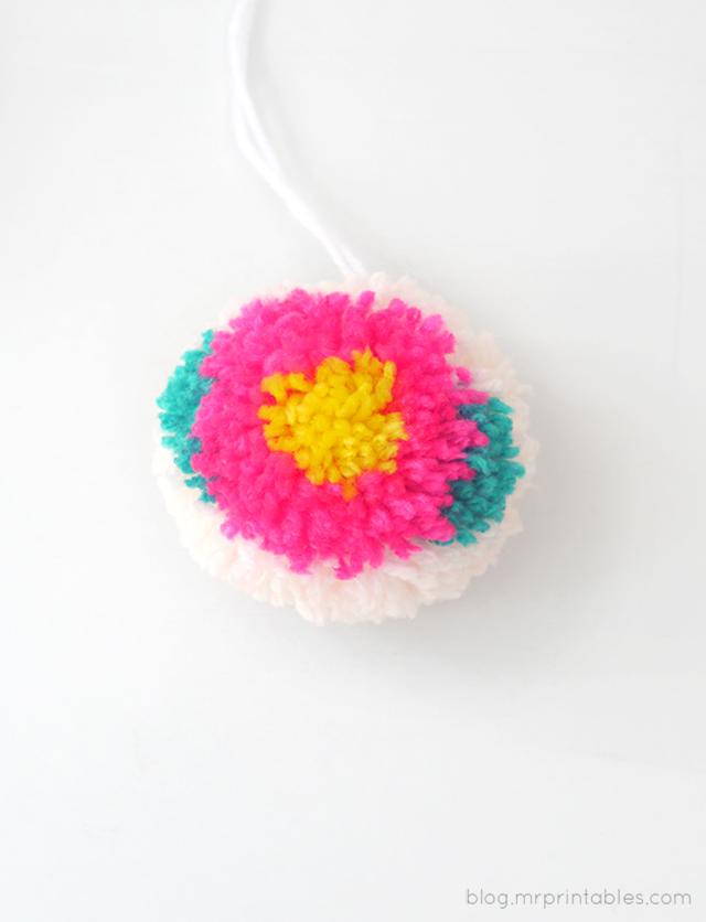 Цветочные помпоны14