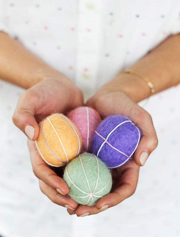 Валяние яиц