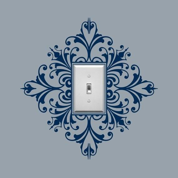 украшение выключателя
