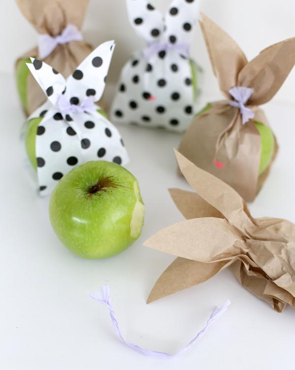 Кролик-упаковка для фруктов