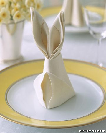 белый пасхальный кролик
