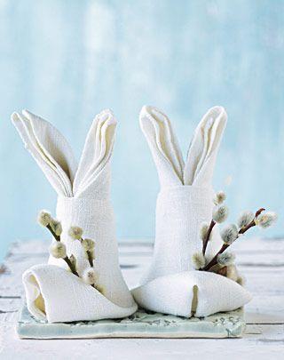 пасхальные кролики с подарками
