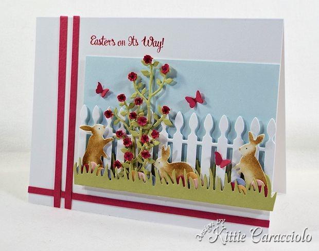 Объемные открытки Kittie Caracciolo