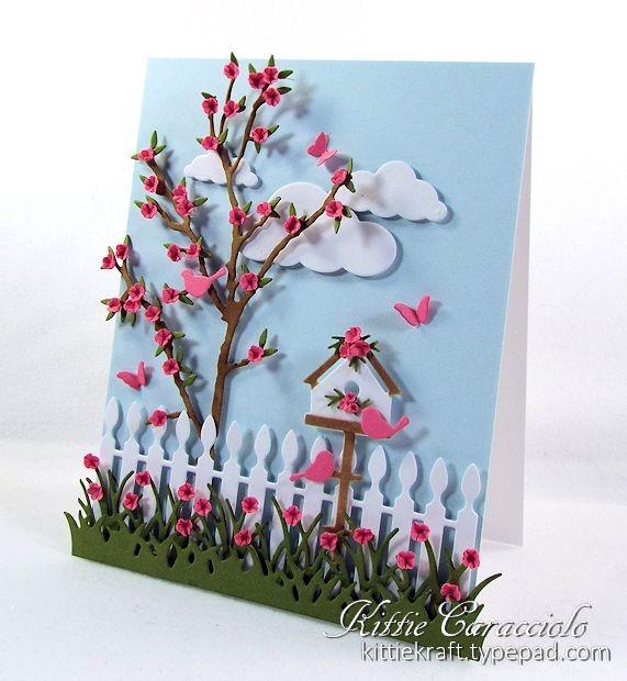 Объtмные открытки Kittie Caracciolo