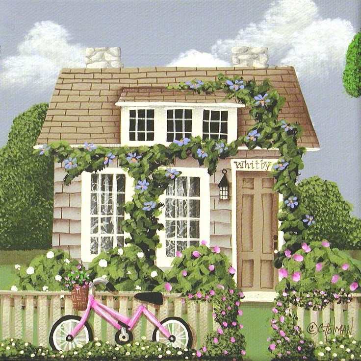 домики для творчества