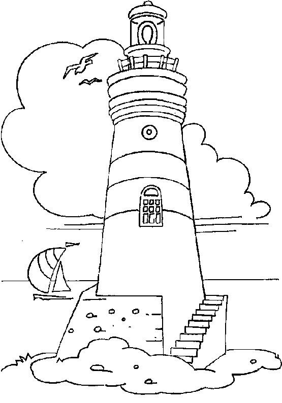 шаблон маяк