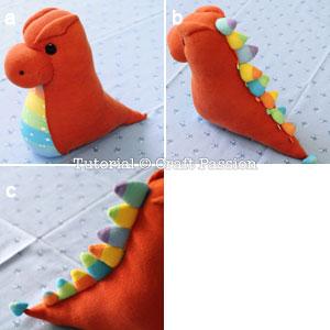 дракон из носков