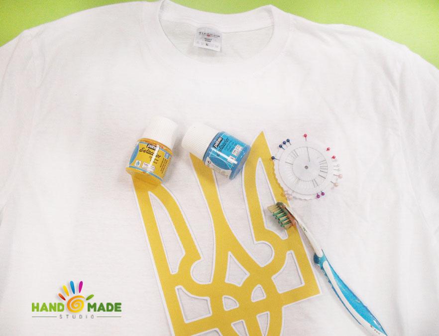 Декор текстильной футболки
