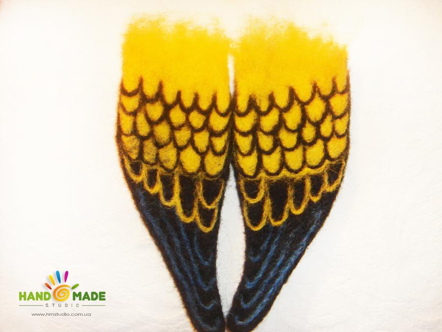 крылышки попугая