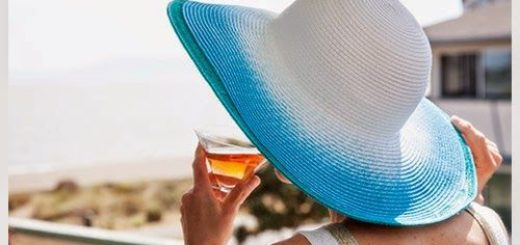 декор летней шляпы