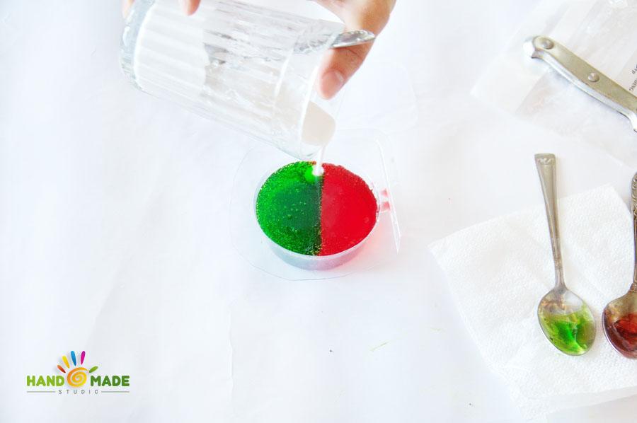 мыло со свирлами