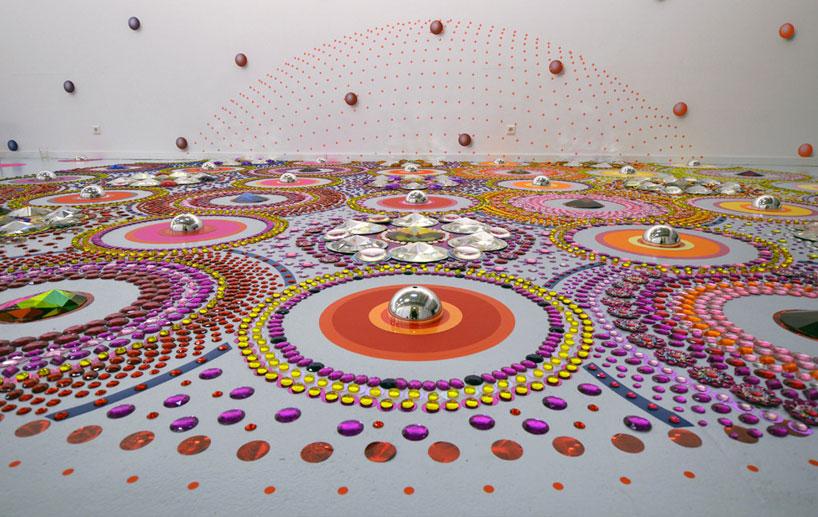 Калейдоскоп на полу от Suzan Drummen