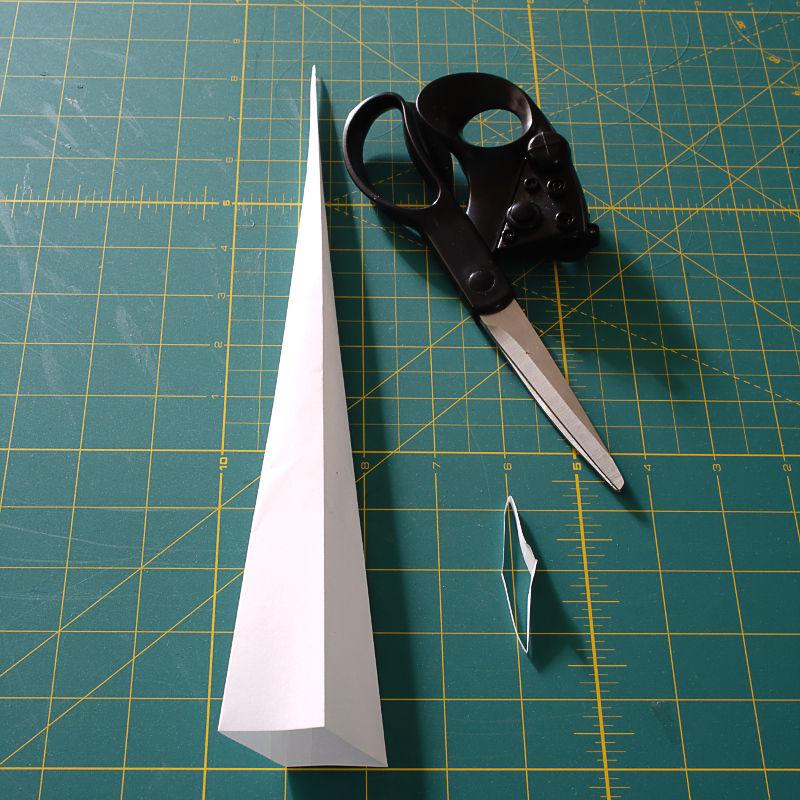 Как из бумаги сделать прямоугольник схема